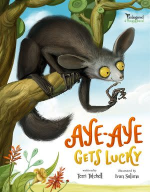 Award-Winning Children's book — Aye-Aye Gets Lucky - Endangered and Misunderstood Book 1