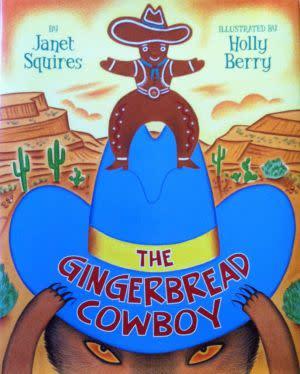 Award-Winning Children's book — THE GINGERBREAD COWBOY