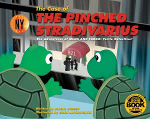 Award-Winning Children's book — The Case of the Pinched Stradivarius