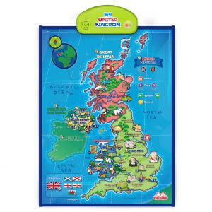 Award-Winning Children's book — i-Poster My United Kingdom Interactive Map