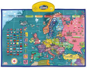 Award-Winning Children's book — i-Poster My Europe Interactive Map
