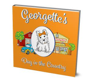 Award-Winning Children's book — Georgette's Day in the Country