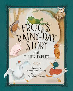 Award-Winning Children's book — Frog's Rainy-Day Stories and Other Fables