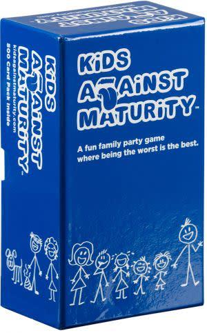 Award-Winning Children's book — Kids Against Maturity: Card Game for Kids