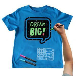 Award-Winning Children's book — Chalk of the Town Chalkboard T-Shirt