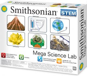 Award-Winning Children's book — SMITHSONIAN® MEGA SCIENCE LAB
