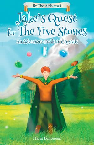 Award-Winning Children's book — Jake's Quest For The Five Stones
