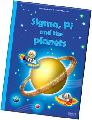 Award-Winning Children's book — Sigma, Pi and the planets