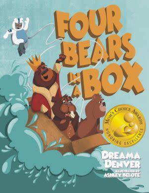 Award-Winning Children's book — Four Bears in a Box