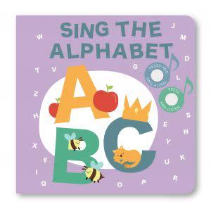 Award-Winning Children's book — SING THE ALPHABET