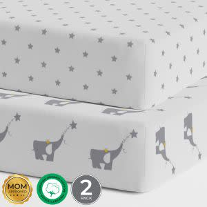 Award-Winning Children's book — Organic Crib sheets