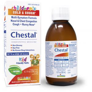 Award-Winning Children's book — Children's Chestal Cold & Cough Syrup