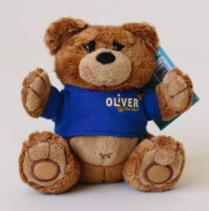 Award-Winning Children's book — United Healthcare Children's Foundation Mini (5 inch) Oliver The Bear Plush Toy