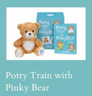 Award-Winning Children's book — Potty Train with Pinky Bear