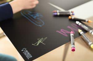 Award-Winning Children's book — Imagination Starters Chalkboard Placemats