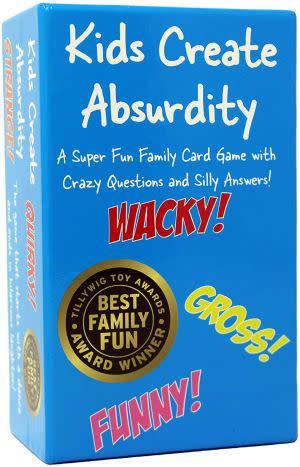 Award-Winning Children's book — Kids Create Absurdity