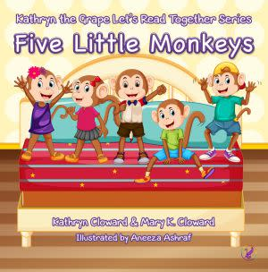 Award-Winning Children's book — Five Little Monkeys