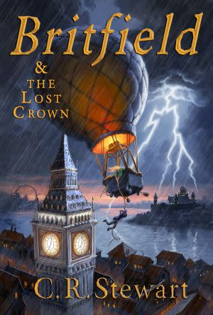 Award-Winning Children's book — Britfield and the Lost Crown