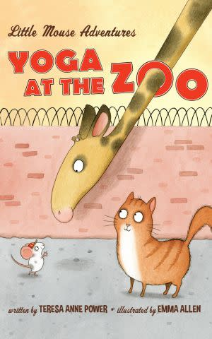 Award-Winning Children's book — Little Mouse Adventures: Yoga at the Zoo