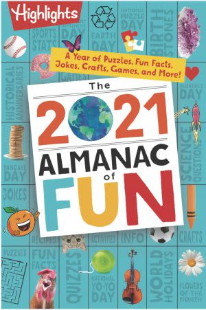 Award-Winning Children's book — The 2021 Almanac of Fun