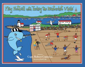Award-Winning Children's book — Flag Football with Tuckey the Nantucket Whale
