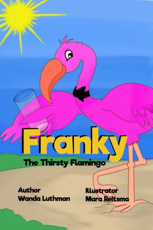 Award-Winning Children's book — Franky the Thirsty Flamingo