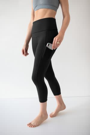 Award-Winning Children's book — Martina Maternity & Postpartum Support Crop Pocket Leggings