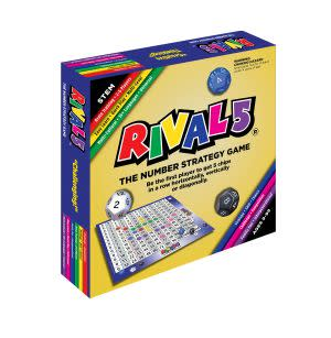 Award-Winning Children's book — RIVAL 5 The Number Strategy Game