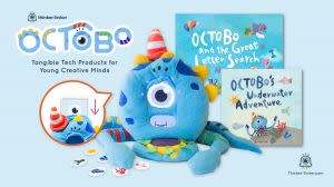 Award-Winning Children's book — Octobo by Thinker-Tinker, Your Plush Robot Companion for Creative Learning
