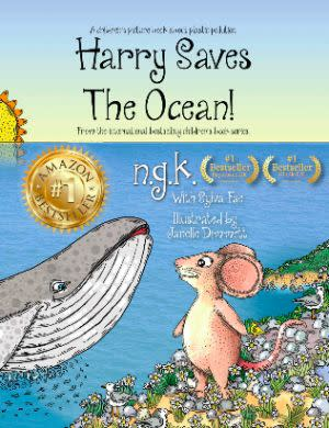 Award-Winning Children's book — Harry Saves The Ocean