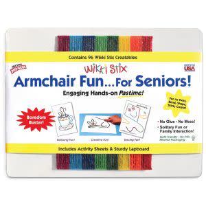 Award-Winning Children's book — Wikki Stix Armchair Fun for Seniors