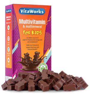 Award-Winning Children's book — VitaWorks Children's Multivitamin chocolate