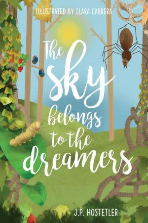 Award-Winning Children's book — The Sky Belongs to the Dreamers