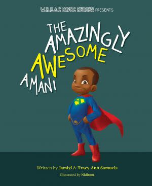 Award-Winning Children's book — The Amazingly Awesome Amani