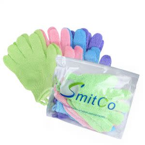 Award-Winning Children's book — SMITCO Exfoliating Gloves - Body Exfoliator, 4 pairs