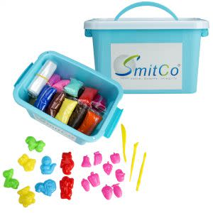 Award-Winning Children's book — SMITCO Air Dry Modeling Clay for Kids - 36 Colors Fun Preschool Learning Craft Kits and Sensory Toys Activities