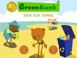 Award-Winning Children's book — Green Rank: Save Our Oceans