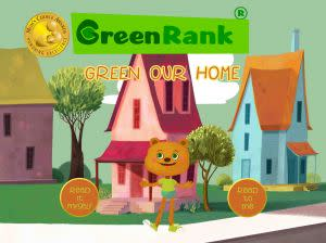 Award-Winning Children's book — Green Rank: Green Our Home