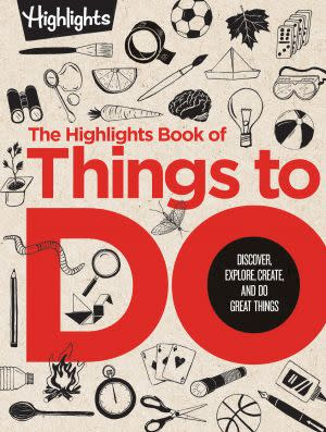 Award-Winning Children's book — The Highlights Book of Things to Do