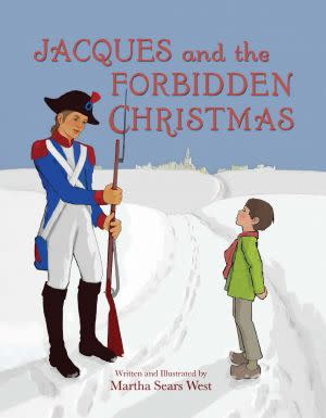 Award-Winning Children's book — Jacques and the Forbidden Christmas