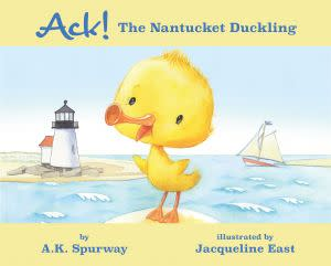 Award-Winning Children's book — Ack! The Nantucket Duckling