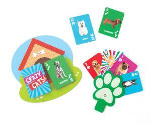 Award-Winning Children's book — Crazy Pets Crazy 8 Playing cards