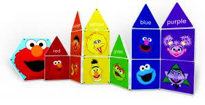 Award-Winning Children's book — Colors With Elmo Magna-Tiles