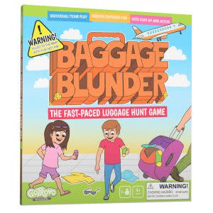 Award-Winning Children's book — Baggage Blunder: The Fast-Paced Luggage Hunt Game