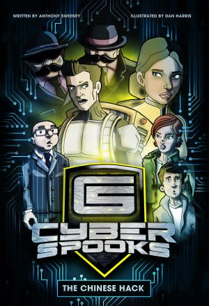 Award-Winning Children's book — Cyber Spooks - The Chinese Hack
