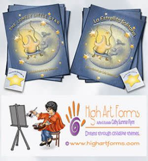 Award-Winning Children's book — The Lonely Little Star & La Estrellita Solitaria