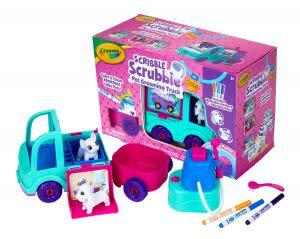 Award-Winning Children's book — Scribble Scrubbie Pets Grooming Truck