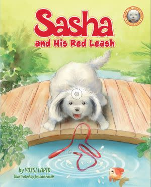 Award-Winning Children's book — Sasha and his Red Leash