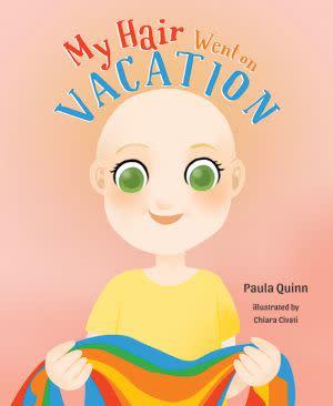 Award-Winning Children's book — My Hair Went On Vacation