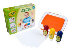 Award-Winning Children's book — Easy-Clean Finger Paint Set